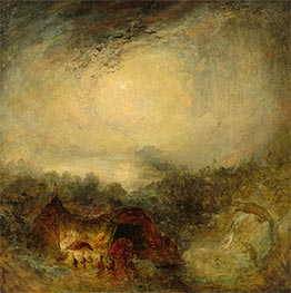J. M. W. Turner | The Evening of the Deluge, c.1843 | Giclée Canvas Print