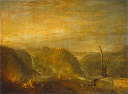 J. M. W. Turner | The Rape of Proserpine, 1839 | Giclée Canvas Print