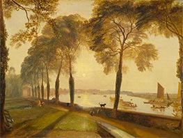 J. M. W. Turner | Mortlake Terrace, 1827 | Giclée Canvas Print