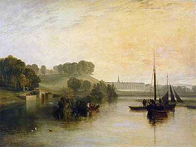 Petworth, Sussex, the Seat of the Earl of Egremont: Dewy Morning, 1810   J. M. W. Turner   Giclée Canvas Print