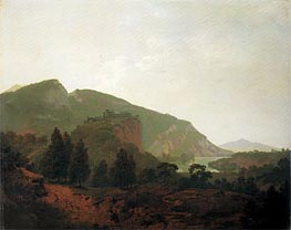 Wright of Derby | Italian Landscape, 1790 | Giclée Canvas Print