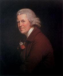 Wright of Derby | Portrait of Old John, Head Waiter at the King's Head in Derby, c.1780 | Giclée Canvas Print