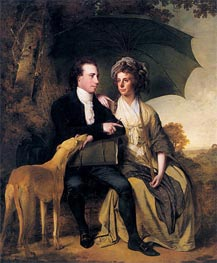 Wright of Derby | Portrait of Rev. Thomas Gisborne and his Wife Mary, 1786 | Giclée Canvas Print