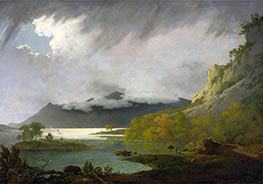 Wright of Derby | Derwent Water with Skiddaw in the Distance, c.1795/96 | Giclée Canvas Print