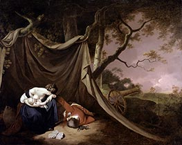 Wright of Derby | The Dead Soldier, c.1789 | Giclée Canvas Print