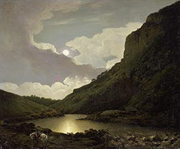 Wright of Derby | Matlock Tor by Moonlight, c.1777/80 | Giclée Canvas Print