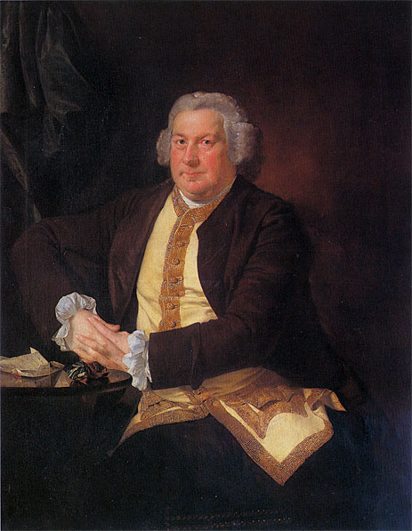 Wright of Derby | Portrait of Francis Hurt, c.1780 | Giclée Canvas Print