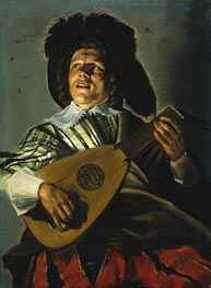 Judith Leyster | The Serenade | Giclée Canvas Print