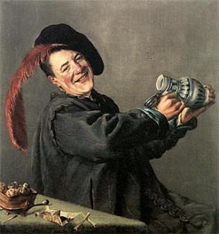 Judith Leyster | The Jolly Toper | Giclée Canvas Print