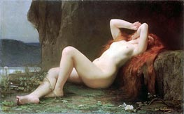 Jules Joseph Lefebvre | Mary Magdalene in the Cave, 1876 | Giclée Canvas Print