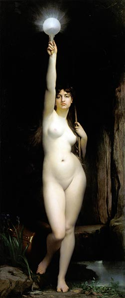 The Truth, 1870 | Jules Joseph Lefebvre | Painting Reproduction