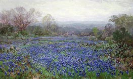 Julian Onderdonk | Field of Bluebonnets | Giclée Canvas Print