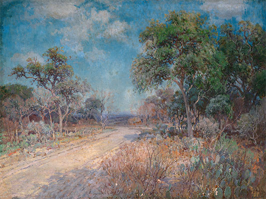 Road to the Hills, 1918 | Julian Onderdonk | Giclée Canvas Print