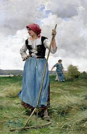 Julien Dupre | Turning the Hay, undated | Giclée Canvas Print