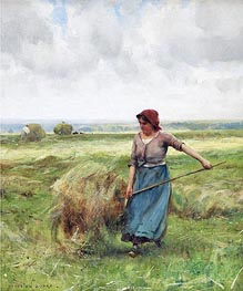 Julien Dupre | The Haymaker, Undated | Giclée Canvas Print