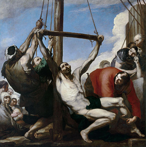 The Martyrdom of Saint Philip, 1639 | Jusepe de Ribera | Painting Reproduction