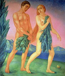Kuzma Petrov-Vodkin | The Expulsion from Paradise, 1911 | Giclée Canvas Print