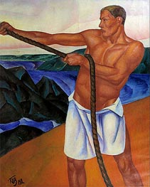 Kuzma Petrov-Vodkin | The Worker, 1912 | Giclée Canvas Print