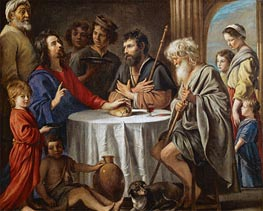 Le Nain Brothers | Supper at Emmaus, c.1642 | Giclée Canvas Print