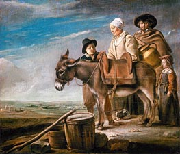 Le Nain Brothers | Milkmaid's Family, c.1641 | Giclée Canvas Print