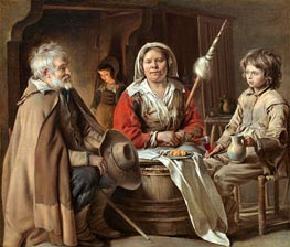 Le Nain Brothers | A French Interior | Giclée Canvas Print
