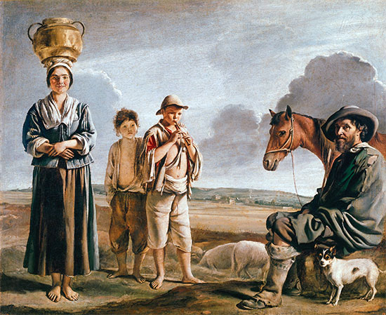 Le Nain Brothers | The Resting Horseman, b.1640 | Giclée Canvas Print