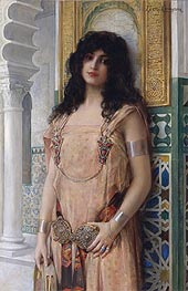 Leon Comerre | An Eastern Beauty, undated | Giclée Canvas Print