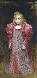 Leon Comerre | Girl in Costume | Giclée Canvas Print