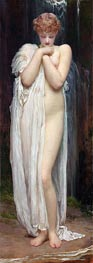 Frederick Leighton | The Nymph of the River (A Bather) | Giclée Canvas Print