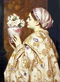 Frederick Leighton | A Noble Lady of Venice, c.1865 | Giclée Canvas Print