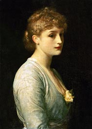 Frederick Leighton | Type of Beauty, undated | Giclée Canvas Print