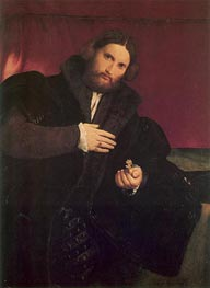 Lorenzo Lotto | Man with a Golden Paw, c.1524/25 | Giclée Canvas Print