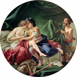 Lagrenee | Mars and Venus Surprised by Vulcan, 1768 | Giclée Canvas Print