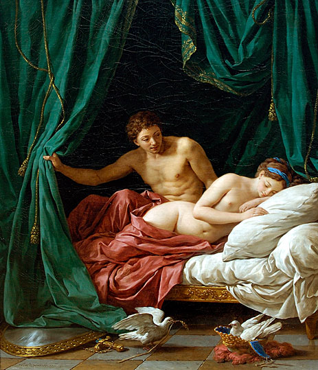 Lagrenee | Mars and Venus an Allegory of Peace, 1770 | Giclée Canvas Print