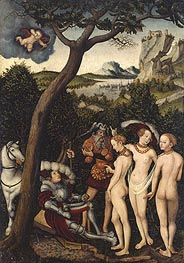 Lucas Cranach | The Judgment of Paris | Giclée Canvas Print