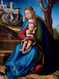 Lucas Cranach | Virgin and Child | Giclée Canvas Print