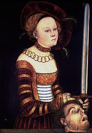 Lucas Cranach | Judith with the Head of Holofernes | Giclée Paper Print