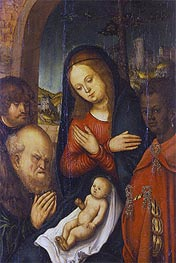 Lucas Cranach | The Adoration of the Kings | Giclée Canvas Print