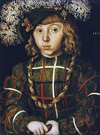 Lucas Cranach | Portrait of Johann Friedrich the Magnanimous | Giclée Canvas Print