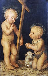 Lucas Cranach | The Christ Child Blessing the Infant St. John the Baptist | Giclée Canvas Print