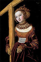 Lucas Cranach | Saint Helena with the True Cross | Giclée Canvas Print