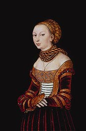 Lucas Cranach | Portrait of a Young Woman | Giclée Canvas Print