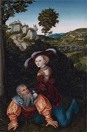 Lucas Cranach | Phyllis and Aristotle | Giclée Canvas Print