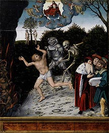 Lucas Cranach | Allegory of Law and Mercy | Giclée Canvas Print