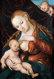 Lucas Cranach | The Virgin Nursing the Child | Giclée Canvas Print