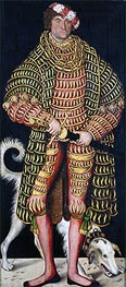 Lucas Cranach | Heinrich the Devout, Duke of Saxony | Giclée Canvas Print