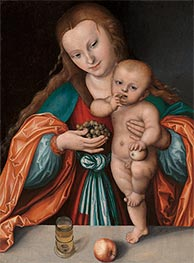 Lucas Cranach | Madonna and Child | Giclée Canvas Print