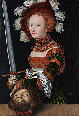 Lucas Cranach | Judith with the Head of Holofernes, c.1530 | Giclée Canvas Print