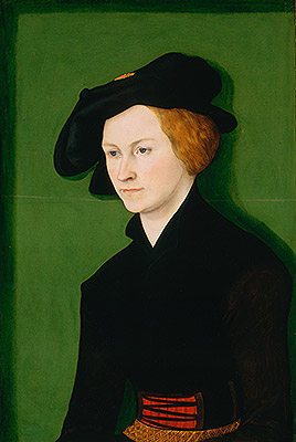 Portrait of a Woman, 1522 | Lucas Cranach | Giclée Canvas Print