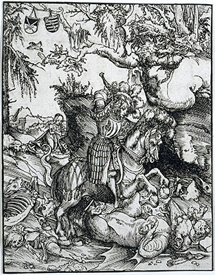 St. George Slaying the Dragon, c.1510/15 | Lucas Cranach | Giclée Paper Print
